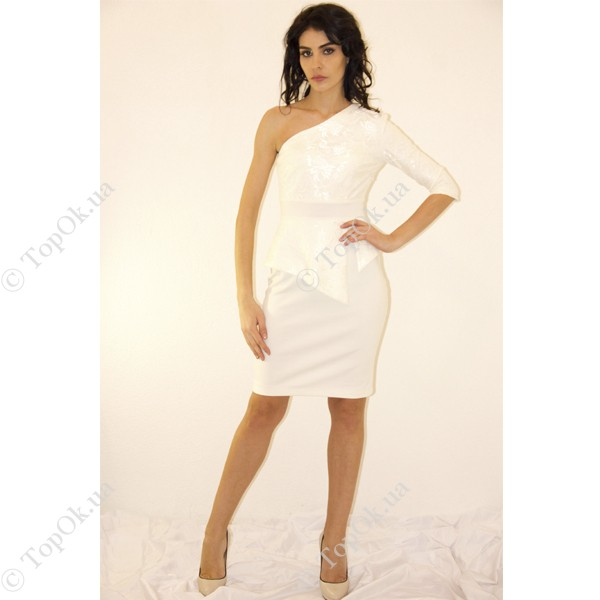 Купить Платье на одно плечо с баской НАЗИК ВЛАДА (Vlada Nazik)