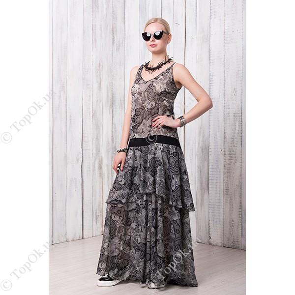 Купить Платье серое СКЛИФОС (Sklifos)