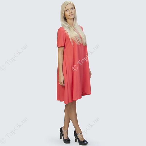 Купить Платье солнце клеш коралл РЕФОРМ (Reform)