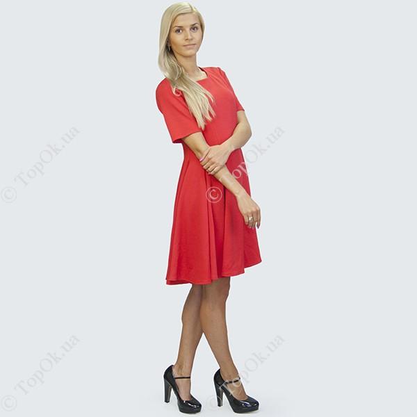 Купить Красное платье выше колен РЕФОРМ (Reform)