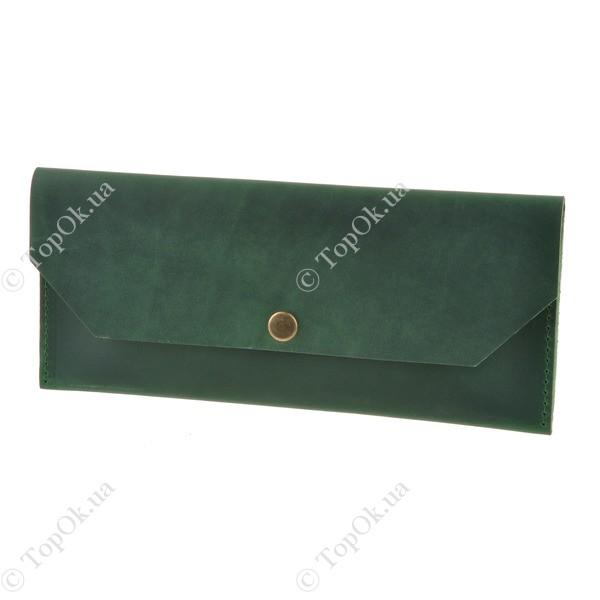 Купить Клатч-конверт Изумруд БЛАНК НОТ (BlankNote)