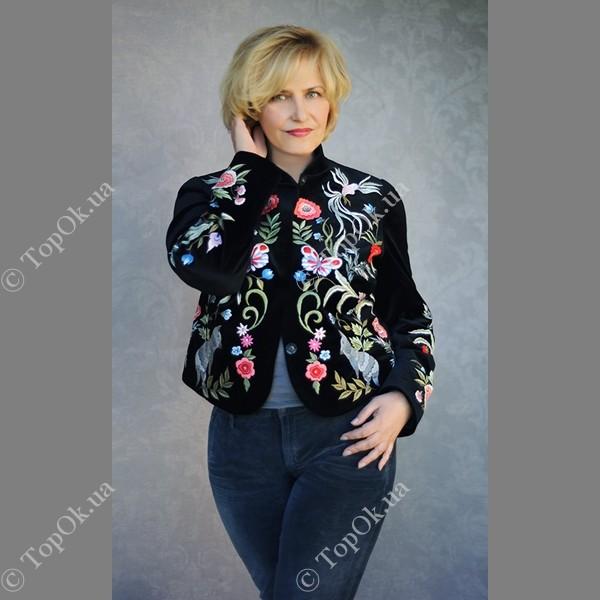 Купить Бархатный пиджак КВИТКА (KVITKA)