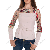 Купить Блуза с вышивкой  АННА ТИМ (Anna Tim)