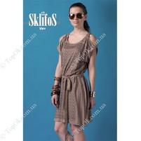 Купить Платье беж орнамет СКЛИФОС (Sklifos)