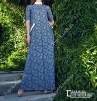 Купить Платье в пол ЧЕРНЕЦКАЯ (Liudmila Chernetskaja)