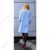 Купить Нежно-голубое пальто от Reform РЕФОРМ (Reform)