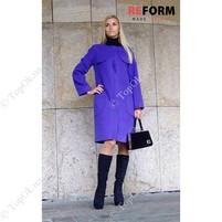 Купить Фиолетовое утепленное пальто от Reform РЕФОРМ (Reform)