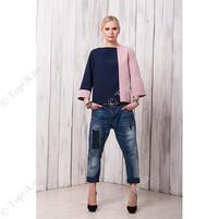 Купить Блуза сине розовая СКЛИФОС (SKLIFOS)