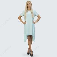 Купить Платье-туника светло-бирюзовое РЕФОРМ (Reform)
