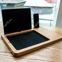 Купить Подставка iPad Station ЭКОВОЛНАТ (EcoWalnut)-Подставки