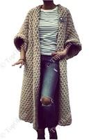 Купить Пальто вязаное ЩЕРБА ЛЮБОВЬ