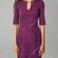 Купить Платье замшевое  АННА ТИМ (Anna Tim)