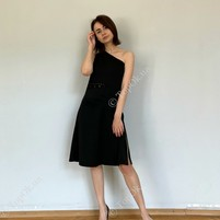 Купить платье с кружевом черное КСЕНИЯ ДРАГАН (K@K)