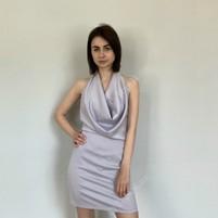 Купить Коктейльное платье из атласа КСЕНИЯ ДРАГАН (K@K)